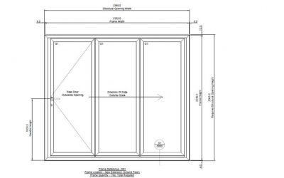 FOR SALE Garden Room Bi Folding Doors