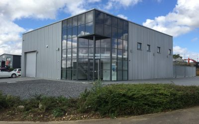 Curtain Wall Entrance Screen and Windows
