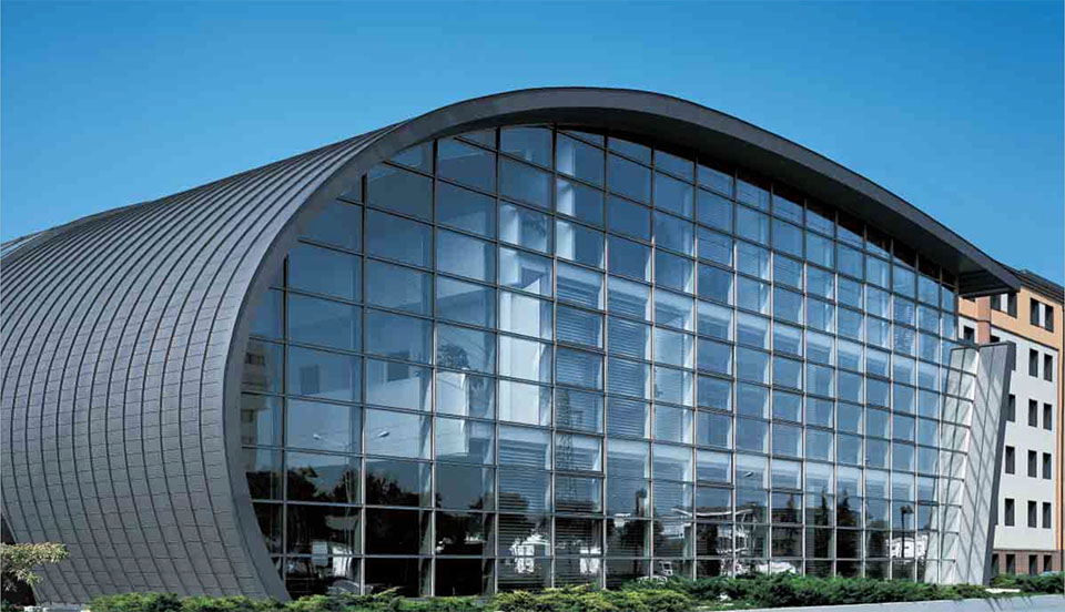Curtain Wall Building Design : Commercial meadstone